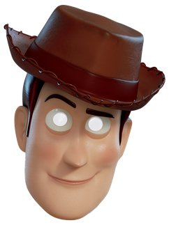 Woody de Toy Story 4 - Careta Infantil