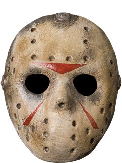 Máscara de Hockey de Lujo de Jason Voorhees