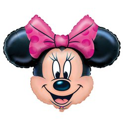 Globo Superforma Minnie Mouse - metalizado 71cm
