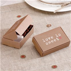 Cajas para tarta de boda Love is Sweet