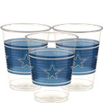 Vasos Dallas Cowboys NFL - Vasos de plástico 473ml