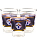 Vasos Pittsburgh Steelers NFL - Vasos de Plástico 473ml