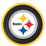 Platos Pittsburgh Steelers NFL - Platos de Papel 23cm