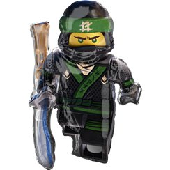 Globo superforma metalizado Lego Ninjago - 88cm Metalizado