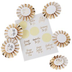Oh Baby - Kit de Medallas para Baby Shower