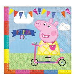 Servilletas Peppa Pig-doble capa de papel