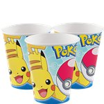 Vasos de Papel Pokémon - 266ml