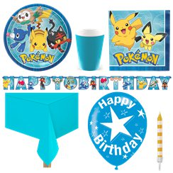 Pack de fiesta Pokemon-Pack Deluxe para 8