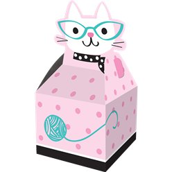 Cajas para regalar Purr-fect Party