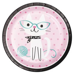 Platos Purr-fect Party-23cm