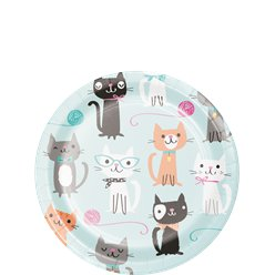 Platos Purr-fect Party - 18cm