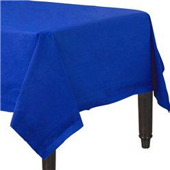 Mantel azul real-Papel de 3 pliegues 1,4m x 2,8m