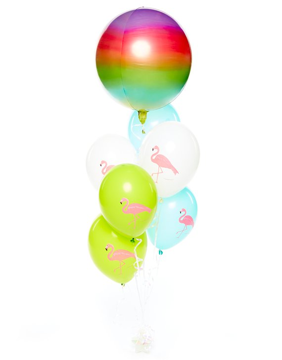 "Kit de Globos Ombre ""Flamingo"""