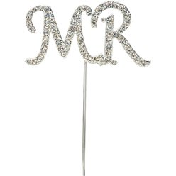 Palillo con brillantes para tartas 'Mr'