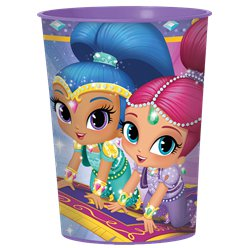 Vaso decorativo de Shimmer y Shine - 455ml