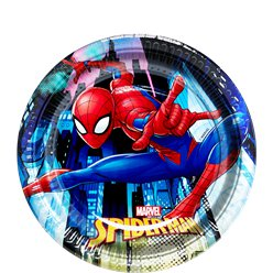 Platos de Postre Spiderman Team Up - 19,5cm