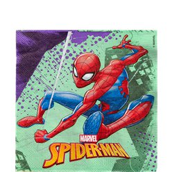 Servilletas de Papel Spider-Man Team Up - 33cm