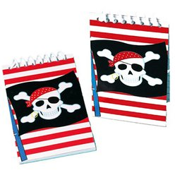 Mini Cuaderno Fiesta Pirata