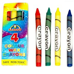 Crayones de cera de color