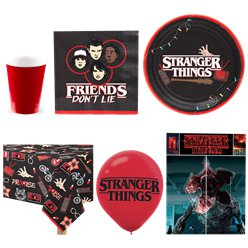 Stranger Things Party Pack - Paquete Deluxe