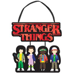 Mini letrero para colgar de Stranger Things - 17cm