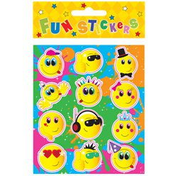 Stickers Pegatinas Rostros Smiley