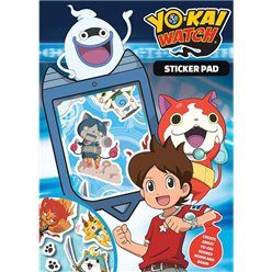 Bloc de stickers Yo Kai Watch