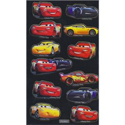 Stickers Metalizados Cars 3