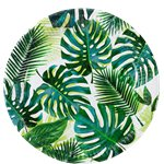 Platos de Papel Fiesta Tropical 23cm