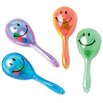 Mini Maracas Sonrientes Smiley