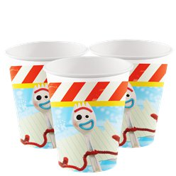 Vasos de papel Toy Story 4 - 266ml