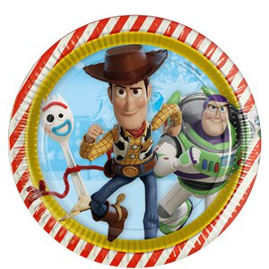 Platos de papel Toy Story 4 - 23cm