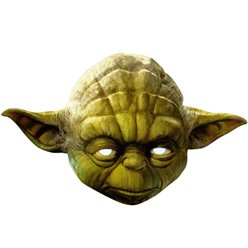 Máscara de Yoda de Star Wars