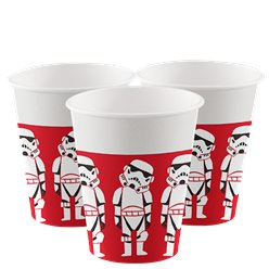 Vasos de cartón Star Wars - 200ml