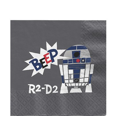 Servilletas de Papel Star Wars - 33cm
