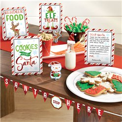 Mini Kit Decoración de Galletas para Santa - Mesa Dulce