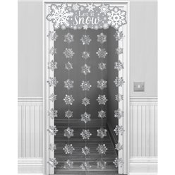 Cortina para puerta Let it Snow - 1,95m
