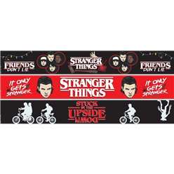 Banners de papel de Stranger Things - 1m