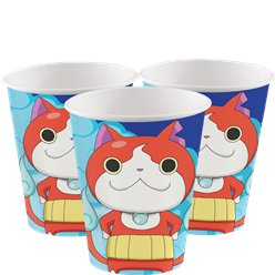 Vasos Yo-Kai Watch-vasos de papel para fiesta de 266ml