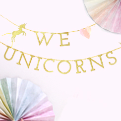 Decoración Unicornio
